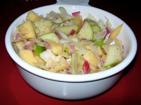 Rutabaga Apple Slaw